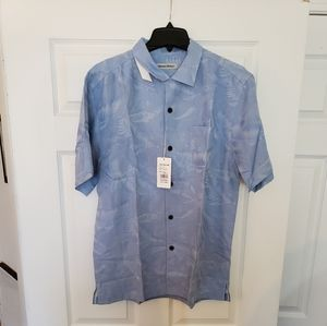 Havana Breeze Lightweight Button Down Shirt